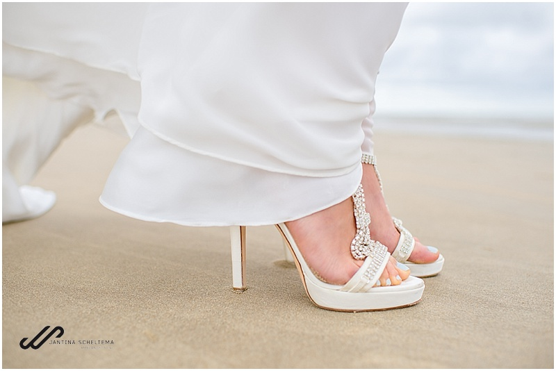strandbruiloft schoenen