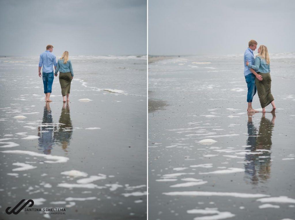 fotoshoot strand Ameland