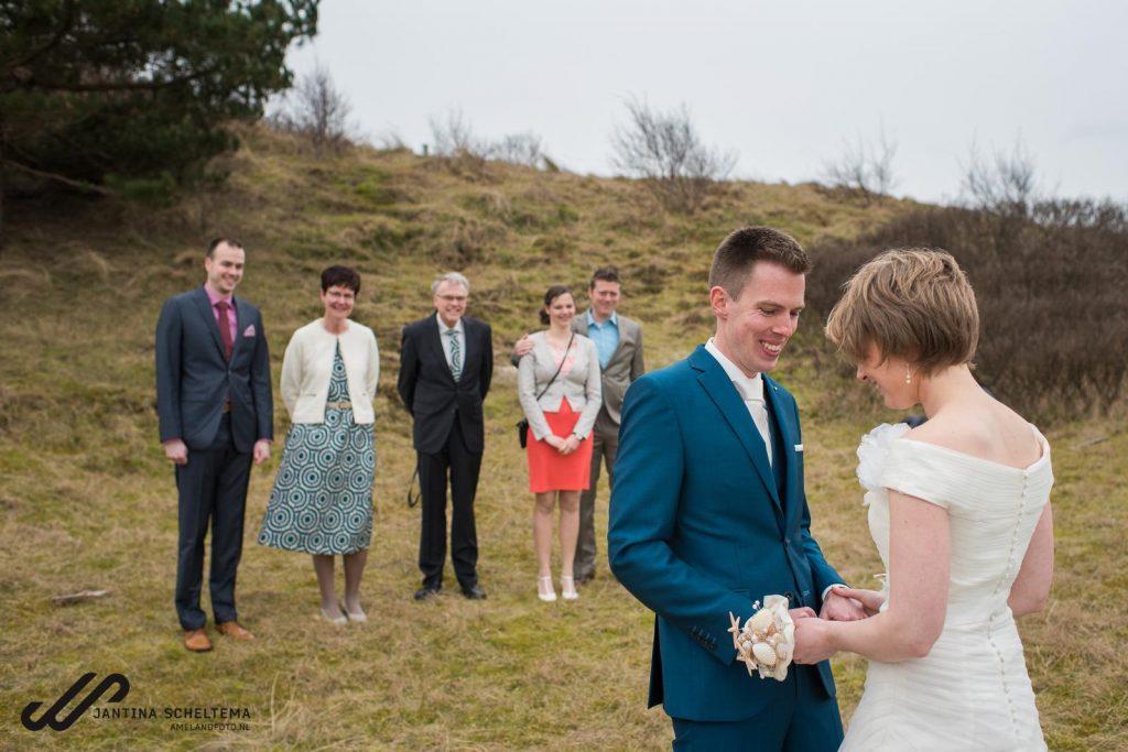 trouwen op Schiermonnikoog