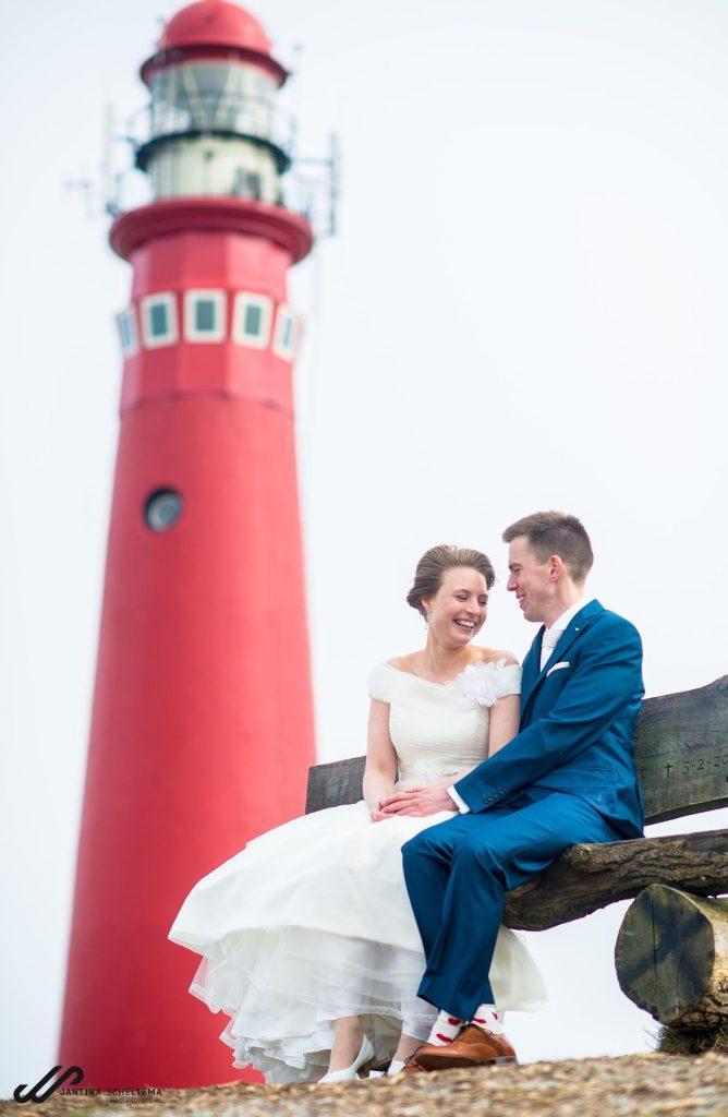 bruiloft op Schiermonnikoog