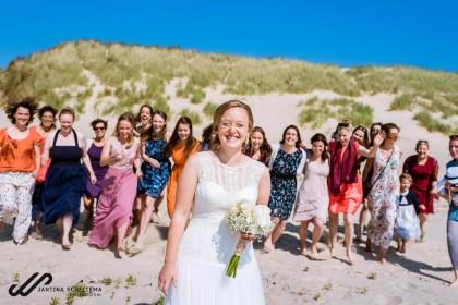 Bruiloft van Sarah en Malte op Ameland