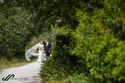trouwen in de westerlaan kerk op Ameland